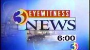 WFSB-TV's Channel 3 Eyewitness News At 6 Video Open From Late 1998
