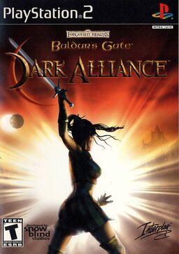 Baldur's gate dark alliance box