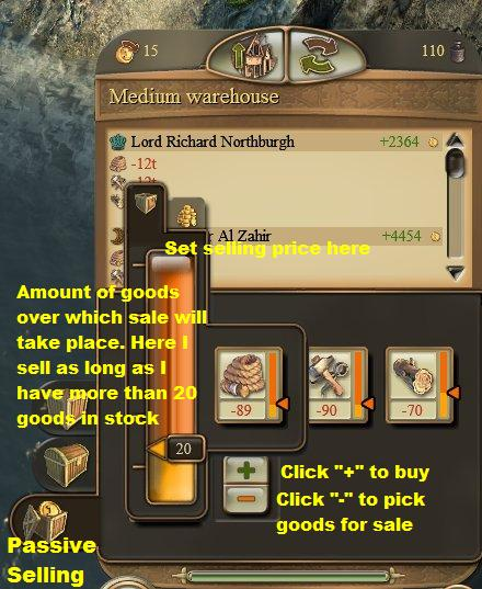 Passive-selling