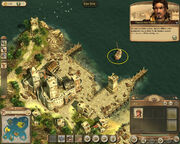 Anno 1404-campaign chapter4 corsairs children hand over