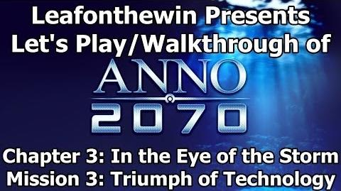 Anno 2070 Let's Play Walkthrough Chapter 3 - Mission 3 Triumph of Technology