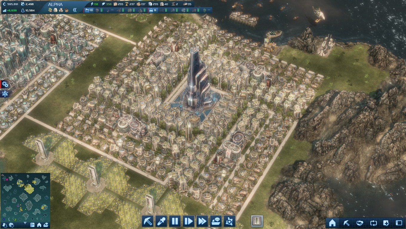 Eco house layout anno 2070