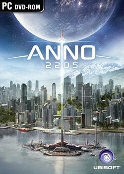 Anno 2205 box cover