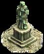 Iron statue