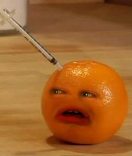 File:Orange being Stabbed by a Syringe.jpg
