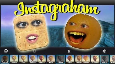 Annoying Orange - Instagraham (Instagram Spoof ft. Taryn Southern)