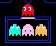 Pac-man ghosts blinky inky