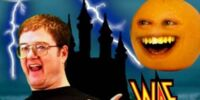 YouTube Meets Daneboe and The Annoying Orange!