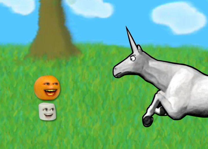 Charlie the Unicorn Annoying Orange