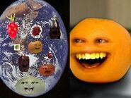 Annoying Orange Fruits Around The World