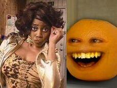 Annoying Orange Meets Bunifa Latifah Halifah Sharifah Jackson