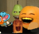 Annoying Orange Meets The Amazing World Of Gumball
