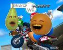 Orange Kart Wii