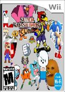Super Smash Bros Clawl Box Art