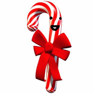 3D Candy Cane