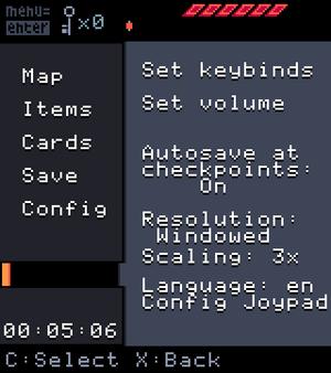 Cheat Code Input