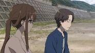 Reiko talks with Matsunaga