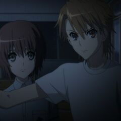 Naoya and Yuuya hide the tape at the end of the series.