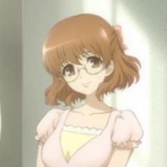 Yukari appearance in the anime ending.