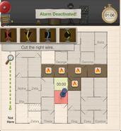 Testing tribute alarm 4