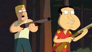 Jeff and Quagmire is hunting