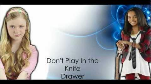 Chyna & Olive- Don't Play In The Knife Drawer (Lyrics)