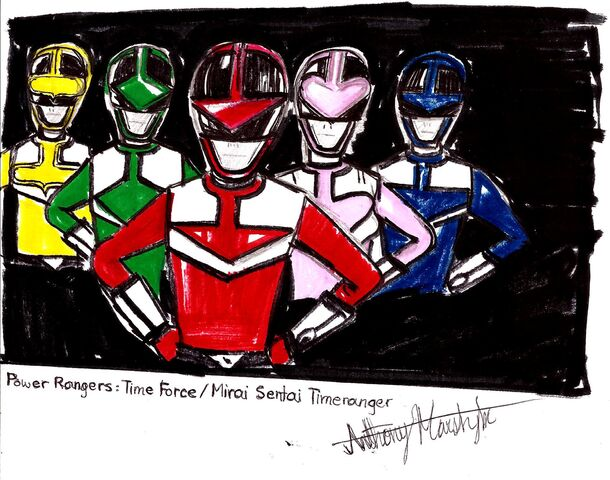 File:Power Rangers Time Force (team portrait) (HD).jpg