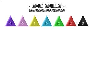 Anti idle epic skills