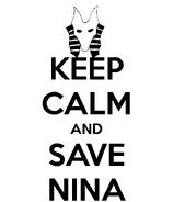 Keep Calm Nina