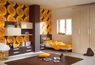 Retro Bedroom
