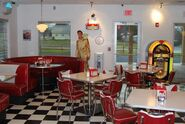 Totally 60's Dining Area