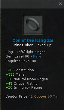 Coil of the Kang Zai