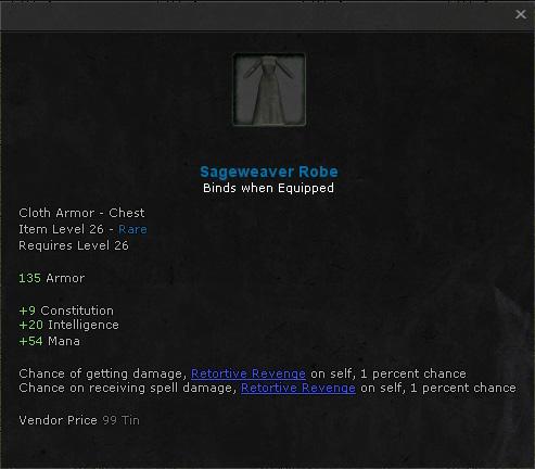Sageweaver Robe