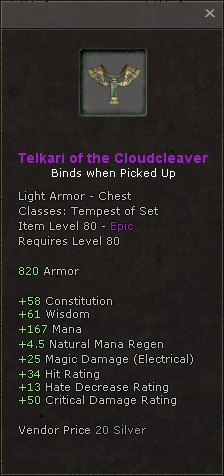 Telkari of the cloudcleaver