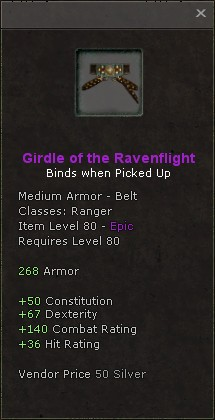 Girdle of the ravenflight