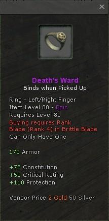 Deaths ward
