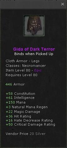 Gida of dark terror