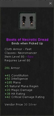 Boots of necrotic dread
