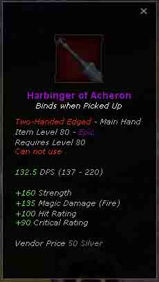 Harbinger of Acheron
