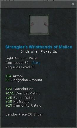 Stranglers wristbands of malice