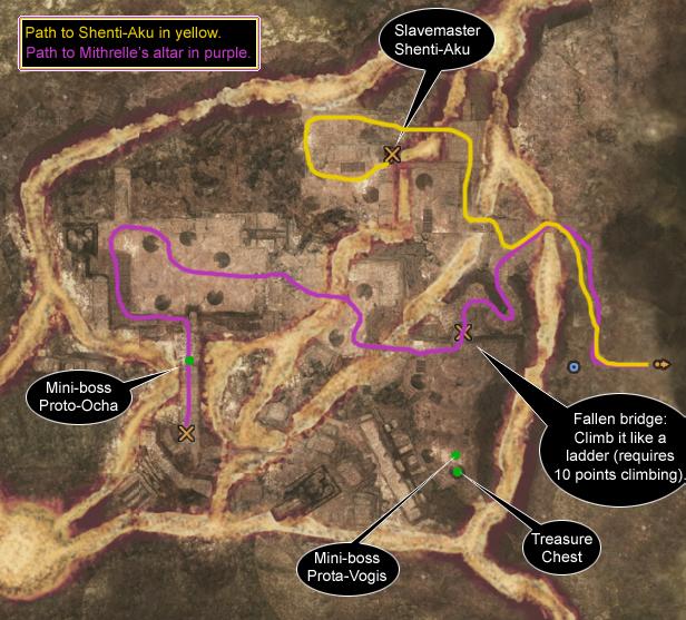 Map TortageVolcano
