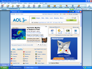 AOL Logged Interface