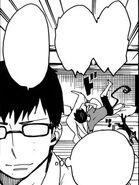 Yukio leaves to go to Shiemi's
