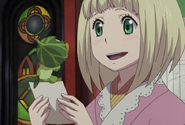 Shiemi meets Greenman