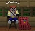 Castor with Cadenza as a Chicken