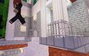 Nikolas leaping away