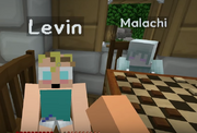 Levin and malachi playing chess