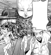 40 Yoshioka Maeda and Shinpei running from the Bokor baby