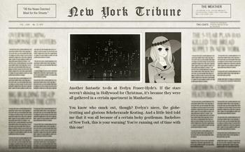 Christmas Felix Newspaper