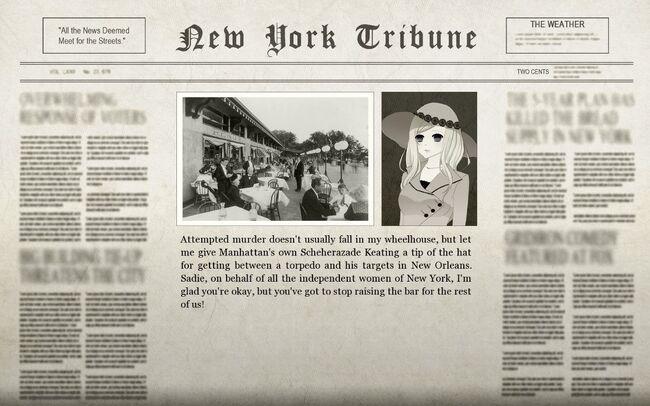 Felix New Orleans Adventure Newspaper